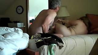Naughty wife fucked brutal by boss during business trip