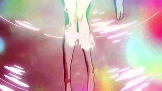 kill la kill - satsuki & ragyo in the bath