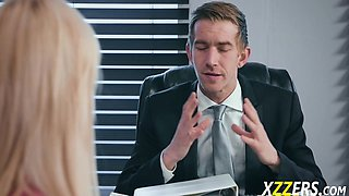 Kylie Page Onto Boss Dick