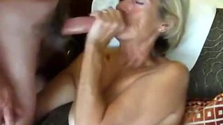Watch her swallow