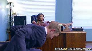 Brazzers - Big Tits at Work - Cassidy Banks and Danny D -  Young Bitchy Boss