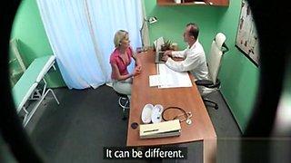 Doctor Fucks Hot Pigtailed Czech Blonde Teen