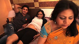 NAVEL - Husband Relation With Wife & Sister _ HINDI HOT SHORT FILM