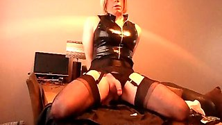 crossdresser craves a real cock
