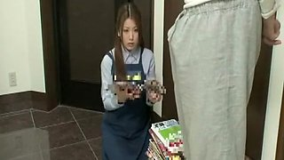 Amazing Japanese chick in Crazy Maid JAV clip