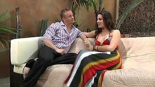 Bobbi Starr outdoor foot fetish sex