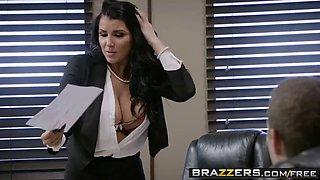 brazzers - big tits at work - pressing news scene starring r