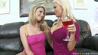 Lesbian Milfs Have A Fun Time Fucking One Another With A Strapon