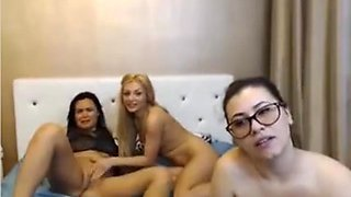Three Women During Livechat