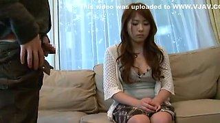 Incredible Japanese chick Sayaka Kawase in Amazing Secretary, Fingering JAV video