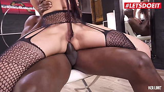 LETSDOEIT - Anal Defloration For Gorgeous Brunette Freya Dee