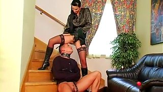 mature gagged and dominated