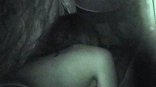 Spy Camera Filming Couples Car Sex