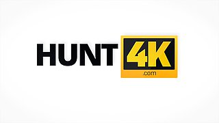 HUNT4K. Cuckold agreed to watch stranger's sex with...
