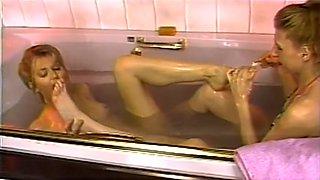 Fabulous pornstar in horny blonde, lesbian porn scene