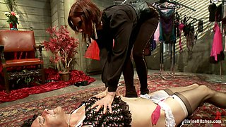 Maitresse Madeline Marlowe & Will in Erotic Humiliation - DivineBitches