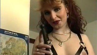 European Redheaded Dominatrix Practices