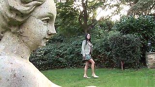 Exotic pornstar Vanessa Hill in amazing blowjob, facial porn clip