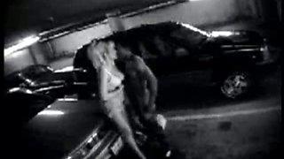 Security cam records parking garage bbc encounter