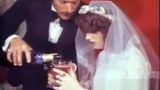Hot Vintage Anal Sex Movie Slutty Virgin Bride Fucked in Ass