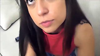 Teen Step Sister Shane Blair Helps Her Big Brother Out With His Dick