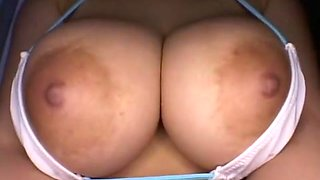 Amazing Japanese girl Akina Satonaka in Hottest Big Tits JAV scene