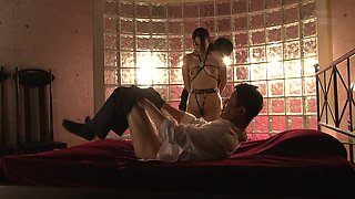 Sho Nishino is a sex slave ready to be ravished well