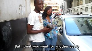 Real African Amateur Friends take a hot shower