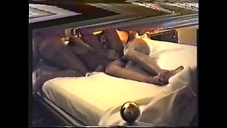 cuckold bisexual with her horny girlfriend