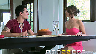 Step dad Keiran Lee fucks sons gf Jenni Lee - Brazzers