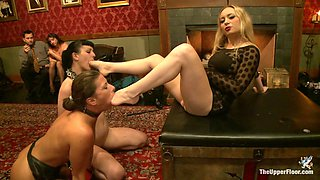 Aiden Starr & Katharine Cane & Ariel X in Lesbian Anal Training Party - TheUpperFloor