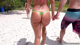 hot spring break fuck with bootyful blonde pawg girl candice dare