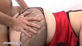 Hot BBW butt fucked