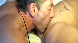 Lisa fucked by her husband in all holes