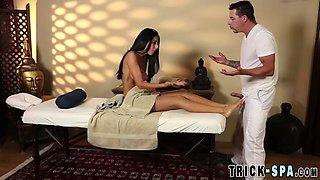 foot fucked massaged babe