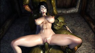 Orc overwatch 3d hentai