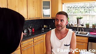 Sisters Tease and Fuck Step Brother