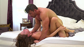 Elena loves sucking and fucking cock