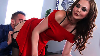Tina Kay & Johnny Castle In Naughty Office