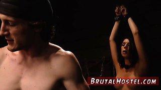 Creamy bondage and brutal anal punishment Two youthful sluts Sydney Cole and Olivia Lua