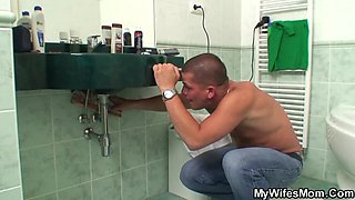 Wife's Mom Caught Him Jerking