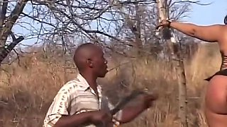 Hot African Girl Drilled With Dildo
