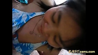Chinese wife blowjob and drinking cum part 1