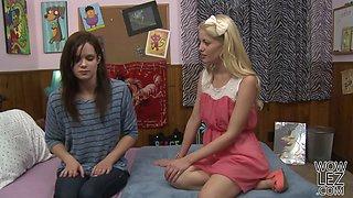 Charlotte and her moms lesbo partner