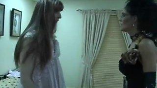 extreme femdom feminization of a sissy slave by a sexy mistress