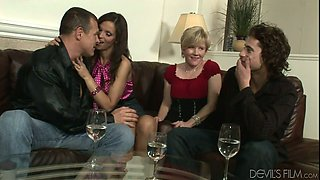 Kelly Taylor and Chance Caldwell are engaged in a crazy swinger sex