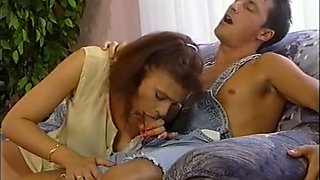Lovely classic white European ladies blowing dicks