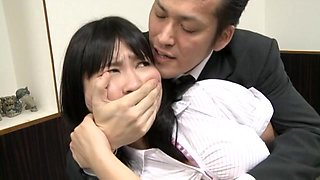 Japanese Fucked At Work In From Of Her Boss