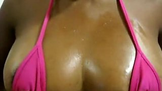 Oiled Up Black Tits Are Amazing