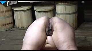 Acrobatic piss